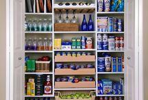 organizare bucătărie si camara