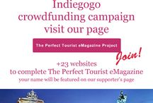 The Perfect Tourist Indiegogo Crowdfunding /  Visit our page , join and be a part of this project!  http://igg.me/at/theperfecttouristemagazine