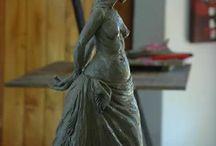 Bronze - Something Precious / Bronze in progress - protecting something precious within as we age. www.sarahrichards.co.za #bronze #art