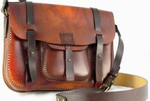 Hand tooled leather goods / Hand tooled leather