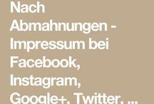 Rechtssicherheit Website - Impressum
