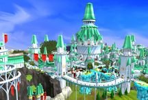 Elf City Screenshots / Some stunning landscape images from Prifddinas, the Lost City of the Elves.  / by RuneScape