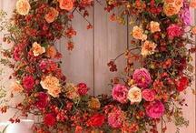 ghirlande e composizioni floreali