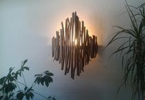 Lampe over sofa