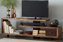 TV shelves