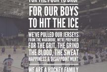 HockeyBLUE AND WHITE FOR LIFE