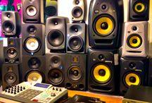 Estudio y grabación / Monitores, mesas de mezclas, micrófonos...