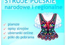 Stroje polskie i regionalne