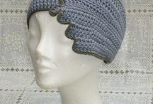 Вязание:шапочки ,шляпы,повязки