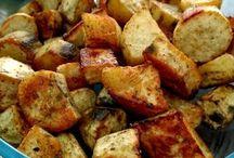 receita com batatas