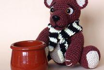 My work - crochet toy / moja tvorba hačkovaných hračiek , amigurumi