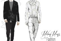 Fashion illustrations / Floyd Grey ,Cecilia Lundgren ,Grance Dore ,Davind Downton