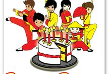 Kung Fu Birthday Parties / We know how difficult it can be to come up with fresh birthday party ideas.   A Kung Fu 4 Kids birthday party is a birthday party that your children will never forget.   Martial Arts Birthday Parties are one of the most positive birthday party experiences your child can have.