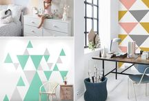 Wall paint and decor