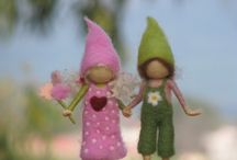 tutorials: needle felting ( fairies)