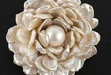 pearl brooch