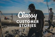Classy Customer Stories / Real stories of nonprofit success. Learn what they've accomplished with the help of the Classy platform. See all of the stories: http://bit.ly/1A2UKkL