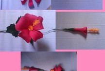 DIY Flowers / Flower crafts, how-to, and inspiration / by Kaye Aych