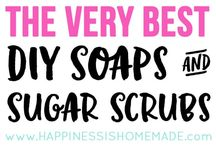 DIY Soaps & Scrubs