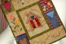 welcome quilt
