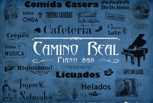 Camino Real piano bar / Visual solutions and material for Camino Real Piano Bar in Villa Giardino, Córdoba, Argentina / by Maiz infographics & design