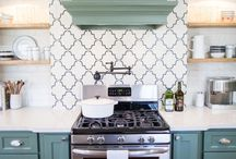 Tiles for behind a wood stove