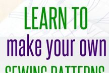 Sewing patterns (make your own)