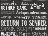 Fonts Galore / by Kristina Marie
