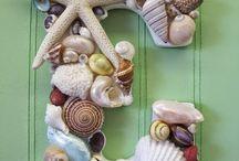 Shells / Decorating with sea shells