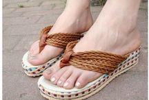 Bayan Aykkabı / Babet / Düz Ayakkabı Bot / Çizme Casual / Sneaker Spor Ayakkabı Terlik / Sandalet Topuklu