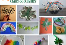 St. Patrick's Day / Sharing the best child centered St. Patrick's Day crafts, snacks, food, activities & more / by Bernadette (Mom to 2 Posh Lil Divas)