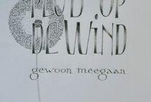 kalligrafie els de bok