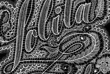 Lettering Art / Handmade lettering