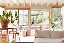 Natural & Airy / natural materials and airy spaces - interior design