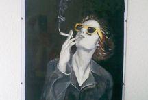 Acryl paintings