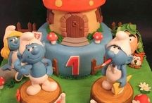 CAKES: Smurfs