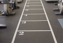 Gym Sprint Tracks / Collection of sprint tracks in gyms