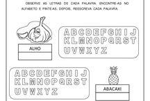 Alfabetização - pré-silábico