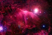 vesmír, přírodní úkazy