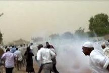 Police disperse protesters in central Sudan, firing tear gas
