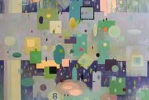Art That Inspires Me / art, inspirational art, colors, mixed media
