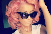 Colour me beautiful  / Why I love hairdressing especially colouring  / by Adele Brown