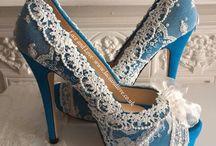 Something Blue Shoes. Custom shoes/ personalised blue shoes / Something blue shoes/ customised blue shoes/ blue wedding shoes