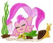 Cutie Fishes Embroidery designs