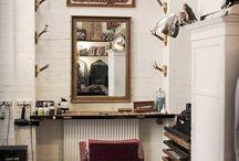 Barbershop decor ideas