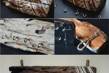 Driftwood display ideas