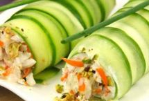 Détox le concombre ! / Encore un aliment minceur et hydratant qui se déguste en savoureuses recettes : le concombre !