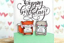 Mama Elephant cards