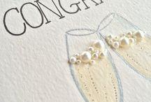 Engagement / Handmade cards