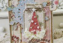 Cards - Christmas Shabby